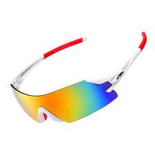 RockBros повседневный велосипедные солнцезащитные очки, белый, красный, велосипедные очки Sports очки UV400