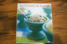 Pappas Ice Creams & Sorbet by Chronicle Books 95 pages,w/jacket ,@2005