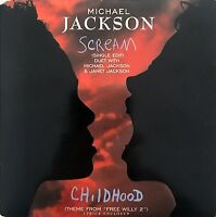 Michael Jackson CD Single Scream - Europe (VG+/VG+)