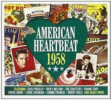 American Heartbeat 1958 NEW 2CD GREATEST HITS / BEST OF / 50's / FITIES