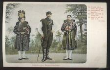 Postcard ALTENBURGER GERMANY  Bauerntrachten Native Dress Costumes 1904