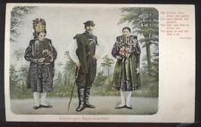 Postcard ALTENBURGER GERMANY  Bauerntrachten Native Dress Costumes 1904