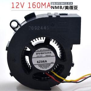1pcs  NMB SF51BH12-51A 12V 160mA for TOSHIBA projection camera fan
