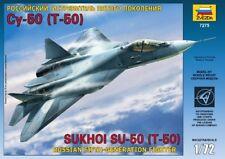 Zvezda Models 1/72 Russian Fifth-Generation Fighter Sukhoi Su-50 (T-50)