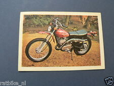 VDH-018 AMF HARLEY-DAVIDSON SX250 MOTOR  PICTURE STAMP ALBUM CARD,