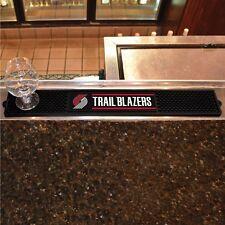 "Portland Trail Blazers 3.25"" x 24"" Bar Drink Mat - Man Cave, Bar, Game Room"