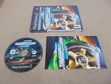 PS2 Playstation 2 PAL jeu need for speed underground 2 avec boite instructions