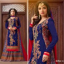 Shalwar Kameez Plazo Indian Bollywood Pakistani Designer Wedding Party For Women