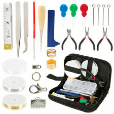 25Pcs Jewelry Making Supplies Kit Wires Findings Repair Beading Tool Accessories