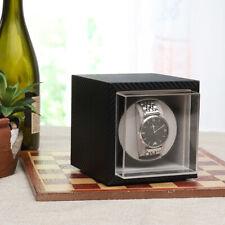 Automatic Watch Winder Mute Motor Carbon Fiber Watches Display Box Case Storage