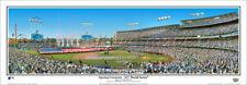 L.A. Dodgers WORLD SERIES 2017 GAME 1 Dodger Stadium Panoramic POSTER Print