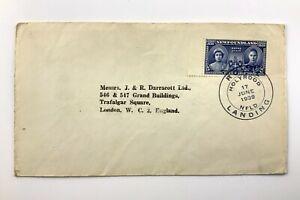 1939 FDC CDS June 17th Royal Landing Holyrood Newfoundland 501C