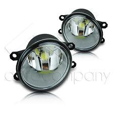 Camry Corolla Matrix Rav4 Venza Replacement Fog Light w/COB LED Bulbs - Clear