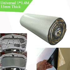 15mm 1*1.4m Self-Adhesive Car Trunk Firewall Sound Deadener Noise Insulation Mat