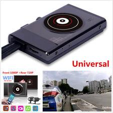 WiFi 1080P Full HD Motorcycle Camera Hidden DVR Recorder+RearView Camera DashCam