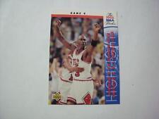 MICHAEL JORDAN 1993 UPPER DECK > HIGHLIGHTS < BASKETBALL CARD 201