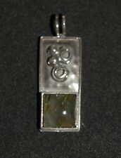 SILPADA - S1743 - Labradorite & Sterling Silver Pendant - RET