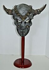 Vintage Full Face GLADIATOR WARRIOR DEMON Deluxe Adult Latex HALLOWEEN Mask