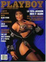 Playboy magazine-November 1991-La Toya Jackson