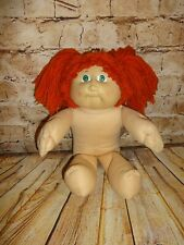 Vintage 1982 Cabbage Patch Kid Red Haired Green Eyes Girl