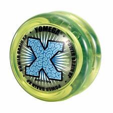 Yomega High Performance Green / Yellow Power Brain XP Yo-Yo - Rookie 2 - New