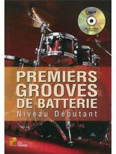 Partitions musicales et livres de chansons contemporains débutants pour batterie