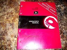 John Deere 1650 Backhoe Operators Manual