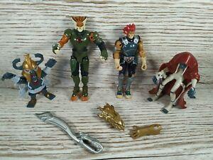Thundercats WBE & Wolf Figure Set Toy Figures Bundle Lot