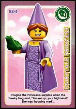 Fairytale Princes #112 Sainsbury's Create The World Lego Minifigures Card (C381)