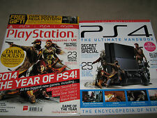 LOT of 2 PS4 The Ultimate Handbook & PLAYSTATION of Year Dark Souls II 2 POSTERS