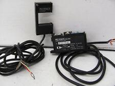 KEYENCE PG-610 W/ PG-602 PHOTO ELECTRIC SENSOR HEAD USED