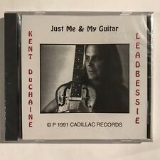 RARE Kent Duchaine Leadbessie Just Me & My Guitar CD 1991 Private Blues SEALED
