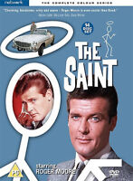 The Saint: The Complete Colour Series DVD (2017) Roger Moore cert PG 14 discs