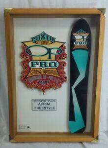 Vintage 1994 OP Pro of Snowboard Back Up Trophy
