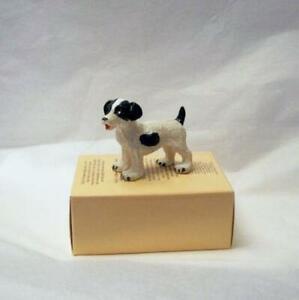 Jack Russell Pet Dog HOXZ502 Heidi Ott Black Spots & Tail Dollhouse Miniature
