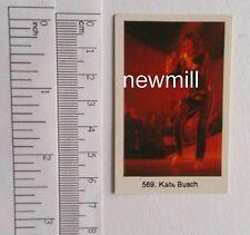 Kate Bush alte trading card 1980 music sänger MINT NEU
