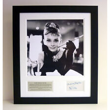 Audrey Hepburn - Signed tribute presentation
