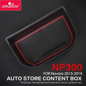 Central Armrest Box Storage Box for Nissan Navara NP300 D23 2015 ~ 2020 Tidying