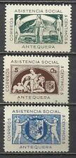 5154-SERIE COMPLETA MNH** 1937 ANTEQUERA MALAGA ASISTENCIA SOCIAL ,SPAIN CIVIL W
