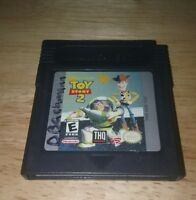 Toy Story 2 (Nintendo Game Boy Color, 1999)