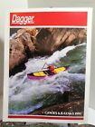 DAGGER CANOE AND KAYAK CATALOG 1990 Legend Reflection Response Caper Interlude