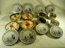 JOB LOT THE BALKAN SOBRANIE 8 TOBACCO TINS 4 LARGE(WITH INNER LINING) 4 SMALL