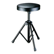 Soundlab Professional Heavy Duty Padded Adjustable Drum Stool Throne Seat