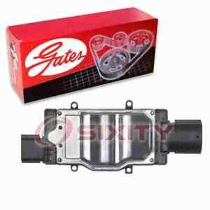 Gates Engine Cooling Fan Module for 2009-2012 Lincoln MKS 3.7L V6 Belts nh