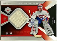 2014-15 UD Ultimate Collection Patrick Roy Retro GU Jersey #'d 16/99 Canadiens