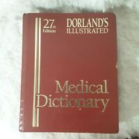 Dorland's Illustrated Medical Dictionary, 27th Edition, Hardback, 1888 pages
