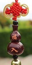 Chinese Wood Wu Lou / Gourd Feng Shui Good Health Lucky Energy