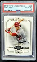2012 Topps Museum Collection Angels MIKE TROUT Rookie PSA 10 GEM MINT Low Pop 29