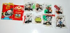 Complete Set of 8 Kung Fu Panda 2 2011 McDonalds Happy Meal Toys Sealed!