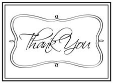Thank You Framed - Darice Craft 4 x 6 A2 Size Embossing Folder Tool